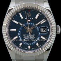 Rolex Sky-Dweller Acier 42mm Bleu Sans chiffres France, Paris