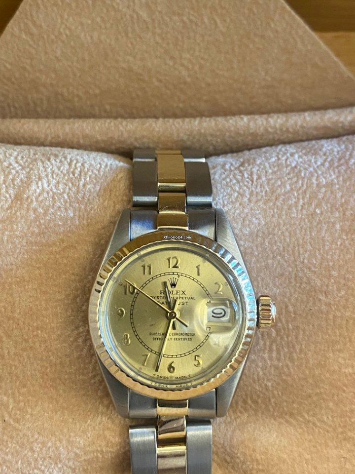 Rolex Lady-Datejust 6917 1980 usato