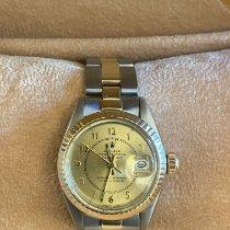 Rolex Lady-Datejust Or/Acier 26mm Or Sans chiffres