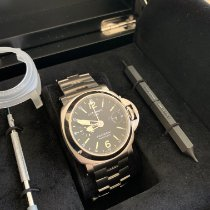 Panerai Luminor GMT Automatic Steel 44mm Black Arabic numerals Australia, sydney