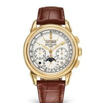 Patek Philippe Perpetual Calendar Chronograph new Manual winding Chronograph Watch with original box and original papers 5270J