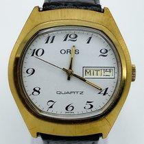 Oris Steel 37mm Quartz Classic pre-owned