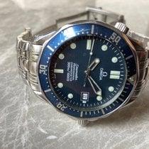Omega Seamaster Diver 300 M Acél 41mm Kék Számjegyek nélkül