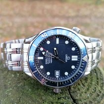 Omega Seamaster Diver 300 M Steel 41mm Blue No numerals United Kingdom, London