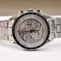 Omega Speedmaster Professional Moonwatch Acier 42mm Argent Sans chiffres