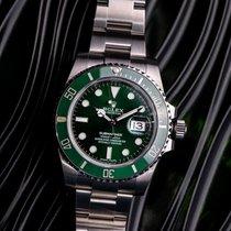 Rolex Submariner Date Acciaio 40mm Verde Senza numeri Italia, roma