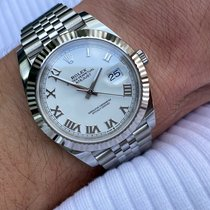 Rolex Datejust Steel 41mm White Roman numerals United States of America, Texas, Houston
