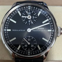 Sinn 6100 pre-owned Black Leather
