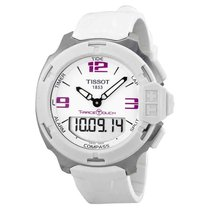 Tissot T-Race Touch Steel 42mm White Arabic numerals United States of America, New Jersey, Somerset