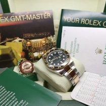 Rolex GMT-Master II 116713LN Gut Gold/Stahl 40mm Automatik