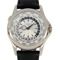 Patek Philippe 5130G-001 Or blanc 2008 World Time 39.5mm occasion