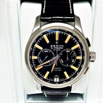 Zenith Captain Chronograph Acier 42mm Noir France, pezenas