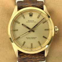 Rolex 6567 Yellow gold 1956 Oyster Perpetual 34mm pre-owned