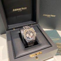 Audemars Piguet Royal Oak Chronograph Acero 41mm Negro Sin cifras