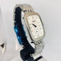 Longines Steel Quartz Mother of pearl No numerals 24.7mm new Equestrian