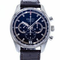Zenith El Primero 36'000 VpH Steel 42mm Black United States of America, Georgia, Atlanta
