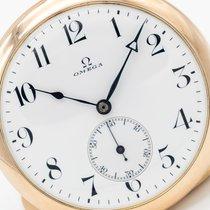Omega Часы подержанные 1920 Pозовое золото 46mm Механические Только часы
