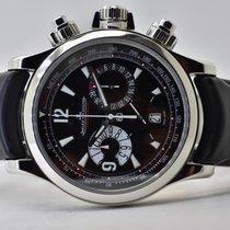 Jaeger-LeCoultre Master Compressor Chronograph Acier 41,5mm Noir Arabes