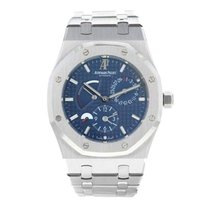 Audemars Piguet Royal Oak Dual Time Acier Bleu France, Paris