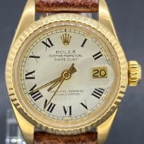 Rolex Lady-Datejust Or jaune 26mm Or Romains