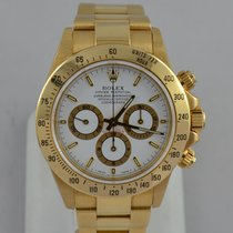 Rolex 16528 Yellow gold 2000 Daytona 40mm pre-owned