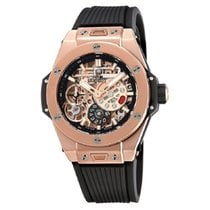 Hublot Oro rosa Cuerda manual Gris 45mm nuevo Big Bang Meca-10