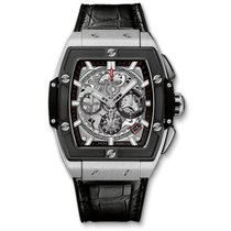 Hublot Spirit of Big Bang Titanio 42mm Gris Sin cifras