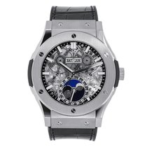 Hublot Classic Fusion Aerofusion Titanium 45mm Grey No numerals United States of America, New York, New York