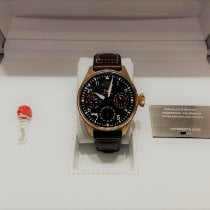IWC Big Pilot Red gold 46,20mm Brown Arabic numerals