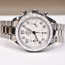 Omega Speedmaster Ladies Chronograph Acier 38mm Blanc