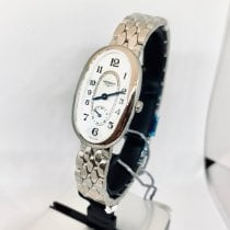 Longines Steel Quartz Mother of pearl Arabic numerals 21.90mm new Symphonette