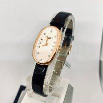 Longines Rose gold Quartz Mother of pearl No numerals 18.90mm new Symphonette