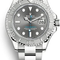 Rolex Yacht-Master 40 Steel 40mm Grey No numerals United States of America, Iowa, Des Moines
