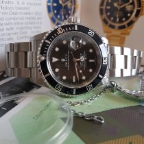 Rolex Submariner Date Acier 40mm Noir Sans chiffres France, Thonon les bains