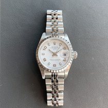Rolex Oyster Perpetual Lady Date Steel 26mm White No numerals United States of America, Florida, Aventura