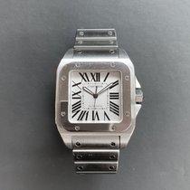 Cartier Santos 100 Steel White Roman numerals United States of America, Florida, Aventura