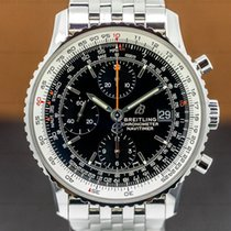 Breitling Navitimer pre-owned 41mm Black Chronograph Date Steel