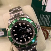 Rolex Submariner Date 16610LV New Steel 40mm Automatic