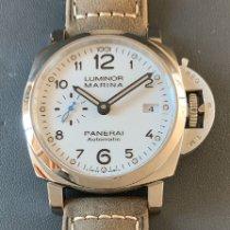 Panerai Luminor Marina 1950 3 Days Automatic pre-owned 42mm White Leather