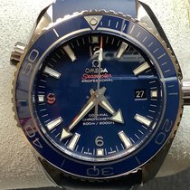 Omega Seamaster Planet Ocean Titanium 45.5mm Blue Arabic numerals United States of America, New Jersey, Fords