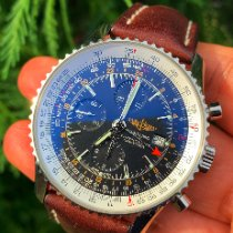 Breitling Navitimer World Steel 46mm Black No numerals United States of America, New Jersey, Fair Haven
