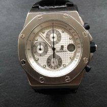 Audemars Piguet Royal Oak Offshore Chronograph Acier 42mm Blanc Sans chiffres