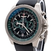 Breitling Bentley Supersports Titanio 49mm Verde Sin cifras