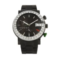 Gucci Ya101349 Steel G-Chrono 44mm pre-owned United States of America, New York, New York