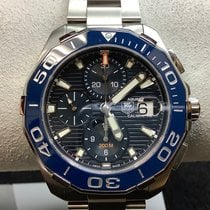 TAG Heuer Aquaracer 300M Steel 43mm Blue No numerals United States of America, New Jersey, Fords