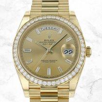 Rolex Day-Date 40 Oro amarillo 40mm Oro Sin cifras