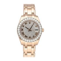 Rolex Pearlmaster Rose gold 34mm United States of America, Pennsylvania