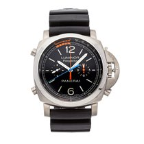 Panerai Luminor 1950 Regatta 3 Days Chrono Flyback Titanium 47mm Black United States of America, Pennsylvania