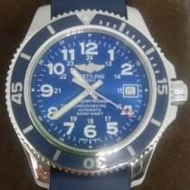 Breitling pre-owned Automatic 42mm Blue Sapphire crystal 50 ATM