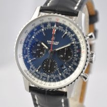 Breitling Navitimer 1 B01 Chronograph 43 Steel 43mm Blue No numerals United States of America, Ohio, Mason